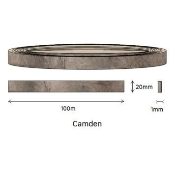 Edging PVC Roll Camden-1mm thick-w20mmxl100m