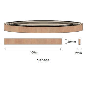Edging PVC Roll Sahara-2mm thick-w20mmxl100m