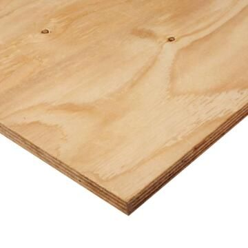 Board Exterior Pine Plywood Grade B/C 6mm thick-2440x1220mm