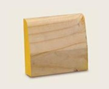 Skirting Block Pine 32mm thick-120x110mm