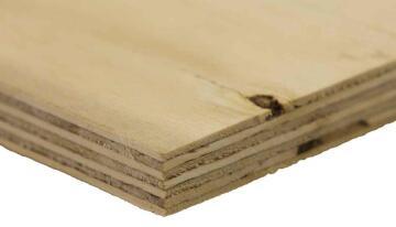 Board Pine Shutterply Grade C+/C 21mm thick-2440x1220mm
