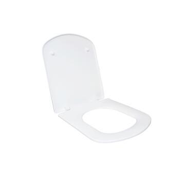 Toilet Seat Square White, SENSEA Easy P/Hinged