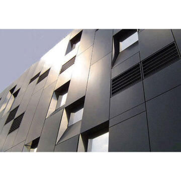 Synthetic Glass Aluminium Composite Panel Dark Grey 3mm thick-1525x750mm