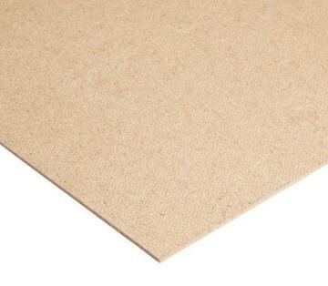 Board Hardboard Brown/Brown 3mm thick-2440x1220mm