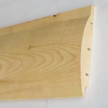 Cladding Pine Half Log 19mm thick-90x3000mm