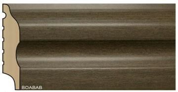 Skirting Polymer Curved Baobab-15x75x2700mm-pack of 2