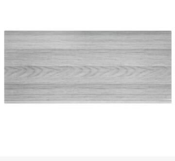 Interior Cladding PVC for Ceiling Print Curve Grey Wood 8mm thick-250x3900mm-panel of 0.975m2