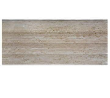Interior Cladding PVC for Ceiling Print Curve Beige 8mm thick-250x3900mm-panel of 0.975m2
