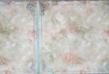 Interior Cladding PVC for Ceiling Print Sqaure Marble 6mm thick-300x3900mm-panel of 1.17m2