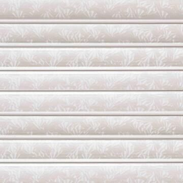 Interior Cladding PVC for Ceiling Laminated Floral White 8mm thick-250x3900mm-panel of 0.975m2