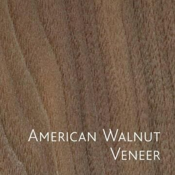 Board Veneer on Chip American Walnut 16mm thick-2750x1830mm