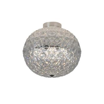 CEILING LIGHT LED CRYSTAL GLASS CHR