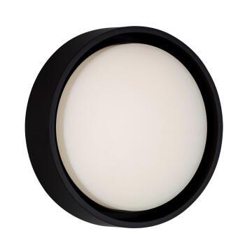 BULKHEAD LED FRAME ROUND 7.2W BLACK