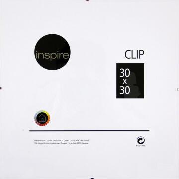 CLIP FRAME INSPIRE 30X30CM