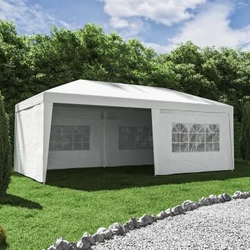 Gazebo Bruma Celebration White 300 cm X 600 cm NATERIAL