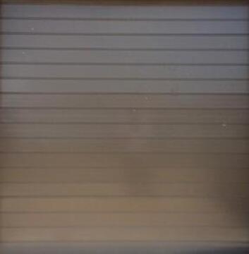 Garage Door Sectional Aluminium Stripe Bronze-Single-w2440xh2140mm