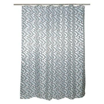 Shower curtain Sensea BLUE MOSAIC