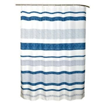 Shower curtain Sensea TIPEE BLUE
