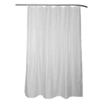 Shower curtain Sensea HAPPY WHITE