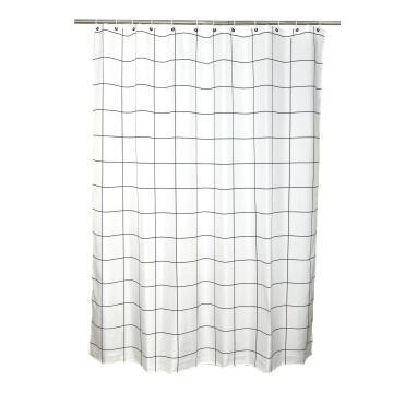 Shower curtain Sensea NEO GRID SQUARED