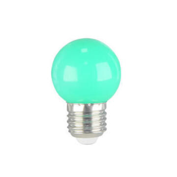 LED P45 E27 1W GREEN 15000H CB