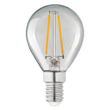 LED FILAMENT G45E14 2.8W 250LM 2700