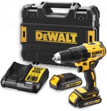Cordless drill DEWALT DCD777S2T 18V Brushless 2 bat Lit 1.5Ah