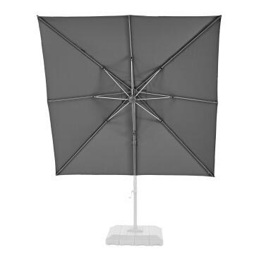 Umbrella Replacement Cover Dark Grey 290 cm x 290 cm NATERIAL