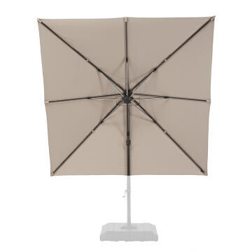 Umbrella Replacement Cover Side Taupe 290 cm x 290 cm NATERIAL