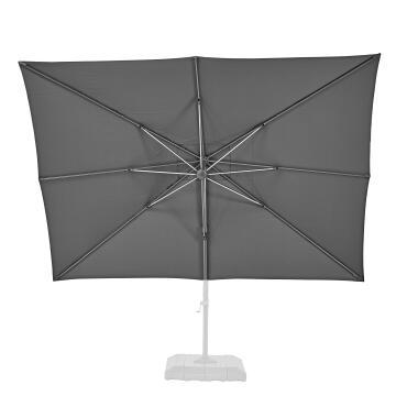 Umbrella Replacement Cover Rectangular Dark Grey 280 cm X 390 cm NATERIAL
