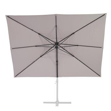 Umbrella Replacement Cover Aura 290 cm X 390 cm Taupe
