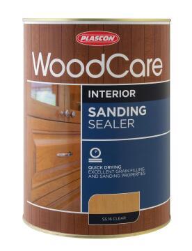Interior sanding sealer PLASCON Woodcare Clear 1L