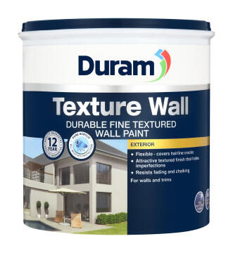 Wall paint DURAM texture White 1L