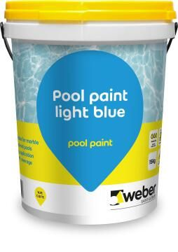 WEBBER POOL PAINT LIGHT BLUE 15KG