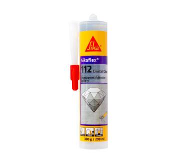 SIKAFLEX 112 CRYSTAL CLEAR 290ML CLEAR