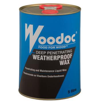 Weatherproof Wax WOODOC 5 litres