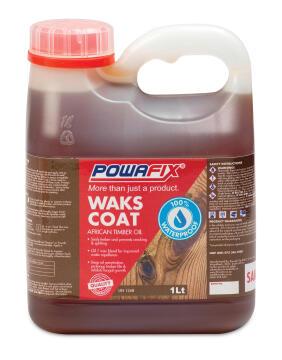 Timber oil POWAFIX Wax coat 1L