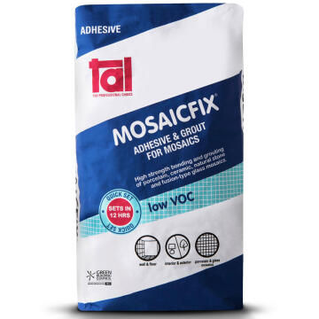 Mosaic Adhesive Mosaicfix light Grey TAL 20kg