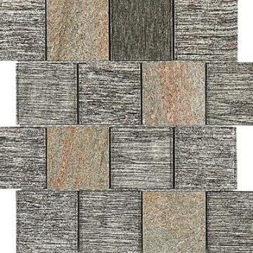 Mosaic Tile Glacier Dusk Square 330x295mm
