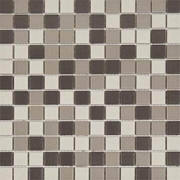 Mosaic Tile Matt Grey Combination 300x300mm