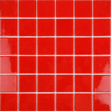 Mosaic Glass Red 48Mm 300X300