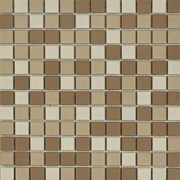 Mosaic Matt Brown Combination 300x300mm