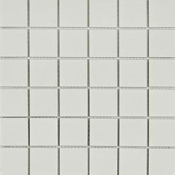 Mosaic Ceramic Matt White 48Mm 300X300