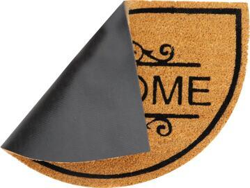 DOORMAT COCO ARSENE HM BLACK 40X70CM INS