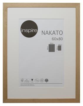 FRAME NAKATO OAK 60X80CM INSPIRE