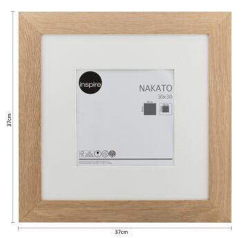 FRAME NAKATO OAK 30X30CM INSPIRE
