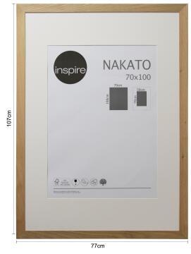 FRAME NAKATO OAK 70X100CM INSPIRE