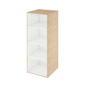 Half column cabinet SENSEA Remix natural oak 45x115x46cm