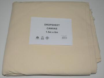 Dropsheet Canvas K&K 1.5X6