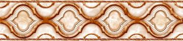 Listello Ceramic Tile Starlight Beige 5.6x20cm